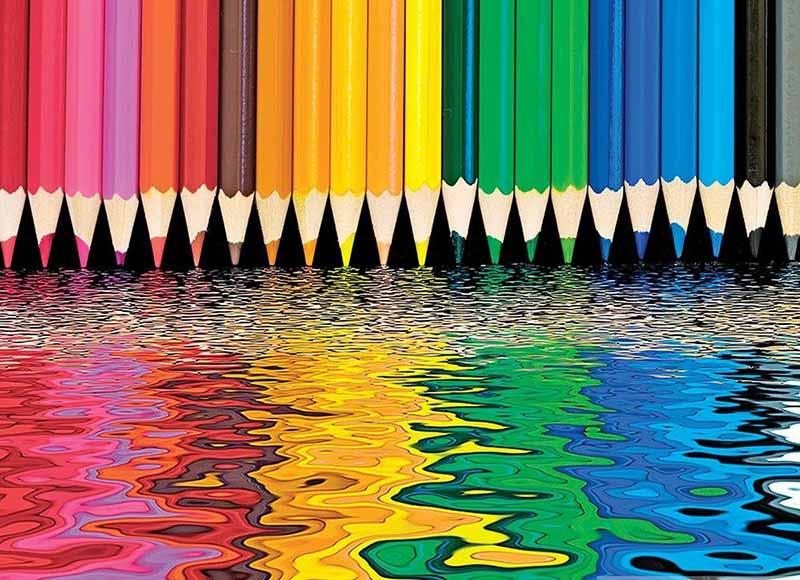 طراحی با مداد رنگی